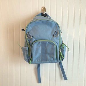 Pottery Barn Kids Small Backpack Blue Green